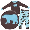 Lazy One Bear Cotton Pajamas for Toddlers and Boys