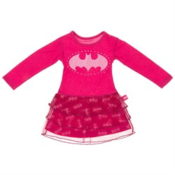 Image of Batgirl Pink Nightgown for Girls