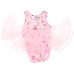 Laura Dare Sweet Rose Bodysuit Nightgown for Infant Girls plus size,  plus size fashion plus size appare