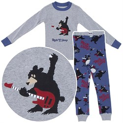 Lazy One Rock Me to Sleep Cotton Pajamas for Toddlers and Boys