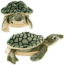 Green Sea Turtle Slippers for Kids