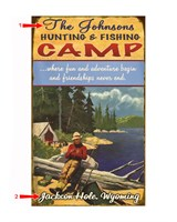 Hunting and Fishing Camp Sign