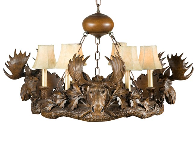 Black Forest Moose Chandelier  sc 1 st  Woodland Chic Woodland Chic & chandelier | 2 | priceDesc | Shopping azcodes.com