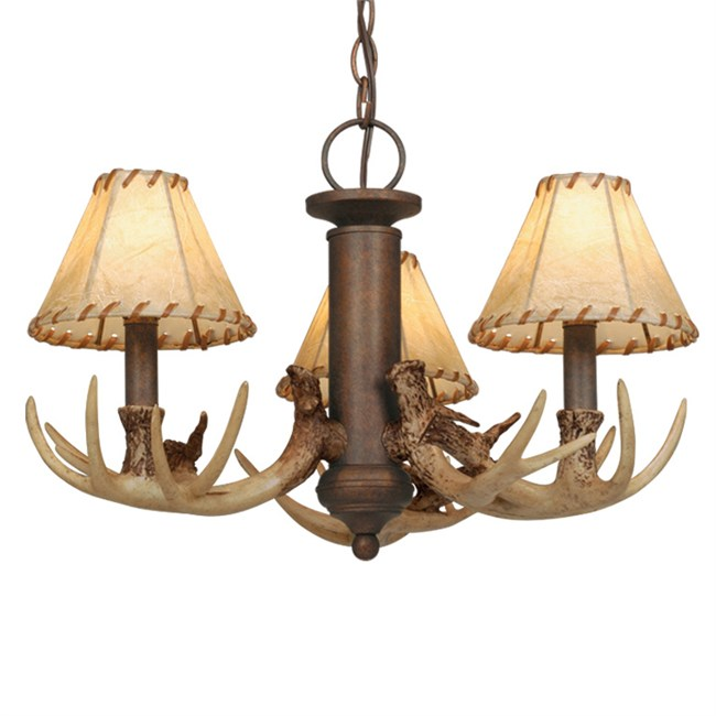 Deer antler chandelier shop everything log homes Log cabin chandelier