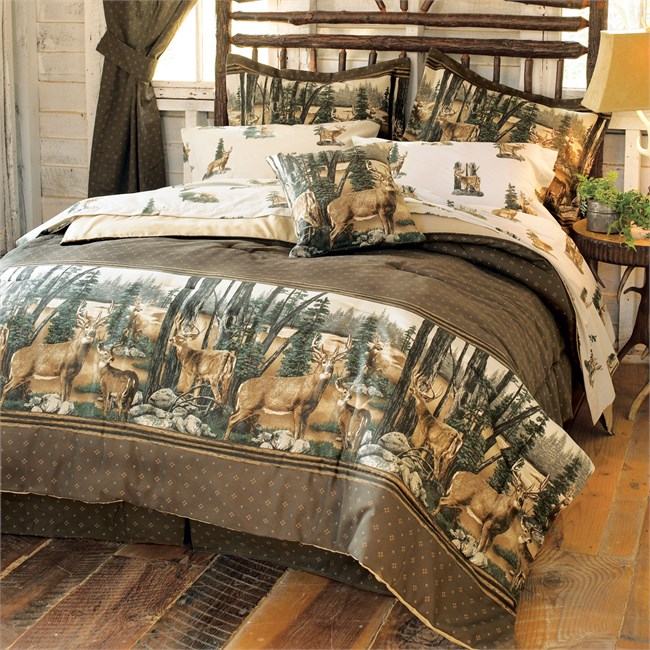 Queen Sheet Set - Whitetail Dreams