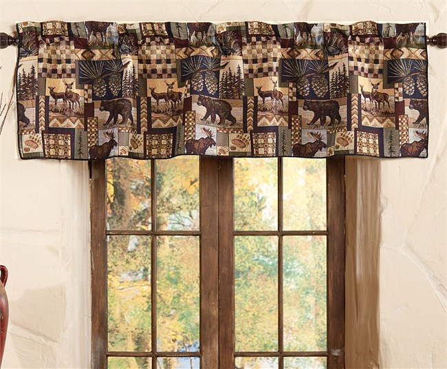Deer Curtains Shop Everything Log Homes