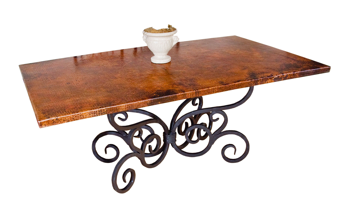 Black Forest Decor Alexander rectangle dining table - 72 ...