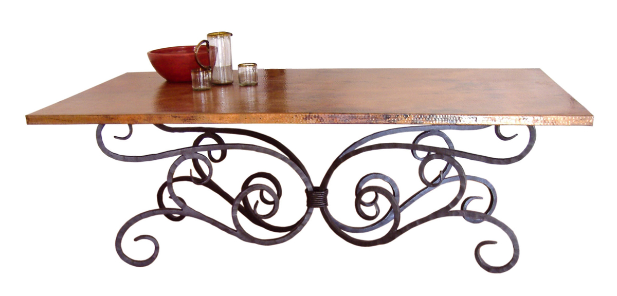 Black Forest Decor Alexander rectangle dining table - 84 ...