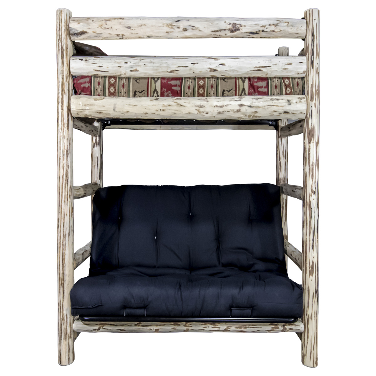 Black Forest Decor Appalachian bunk bed - twin over full ...