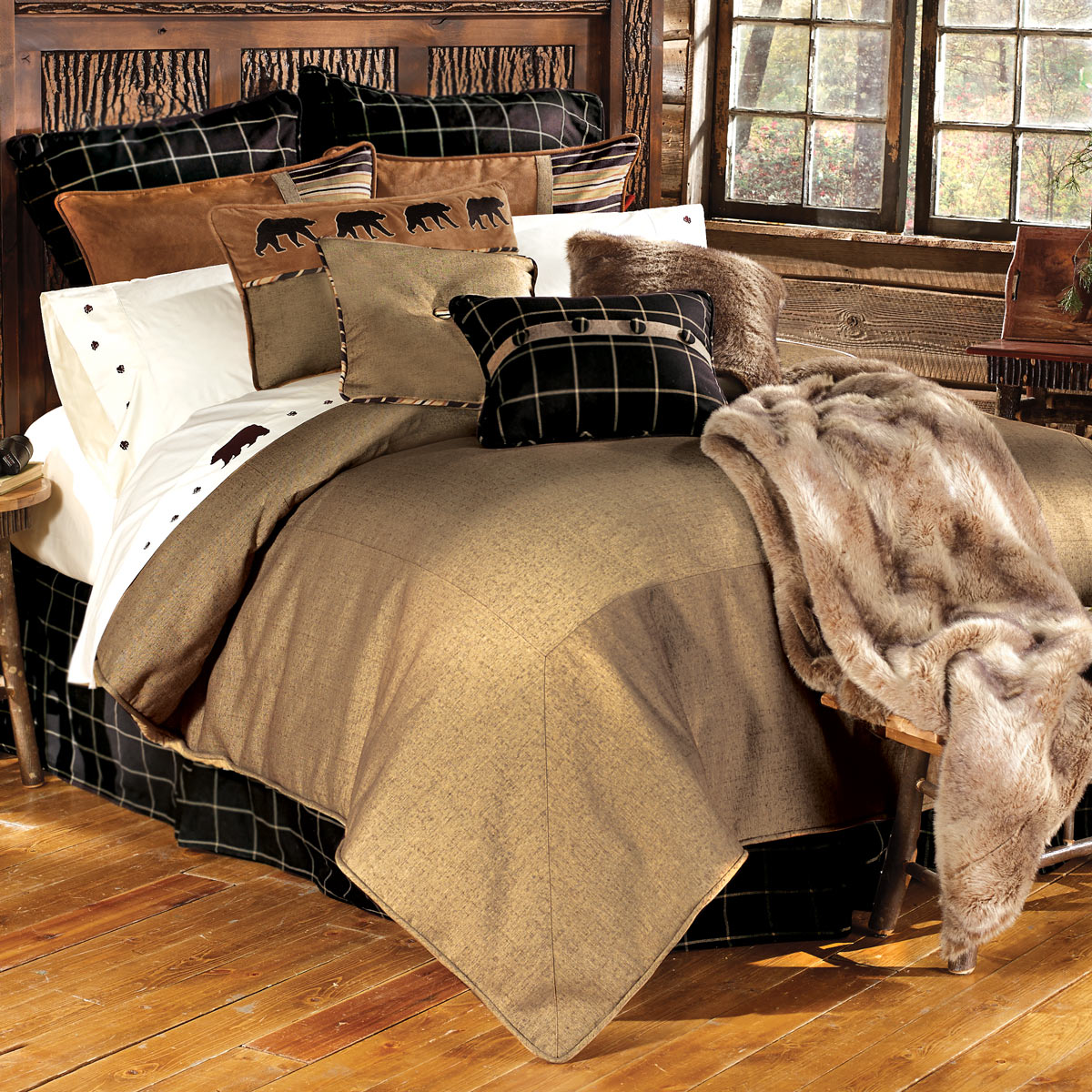 Black Forest Decor Ashbury bed set - twin
