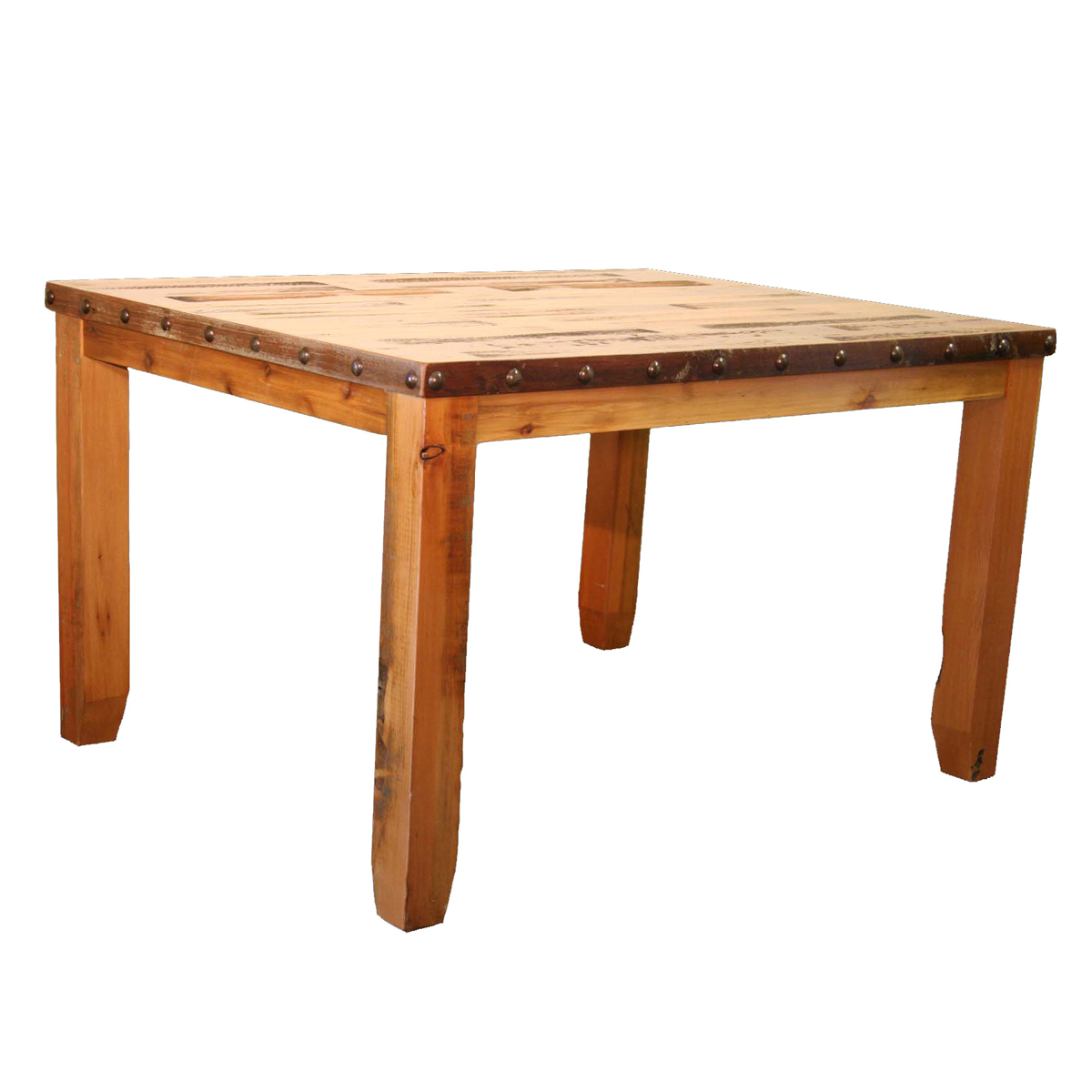 Black Forest Decor Barnwood dining table - 36 x 36