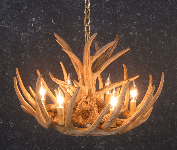 Whitetail 9 antler cascade chandelier sale mozeypictures Image collections