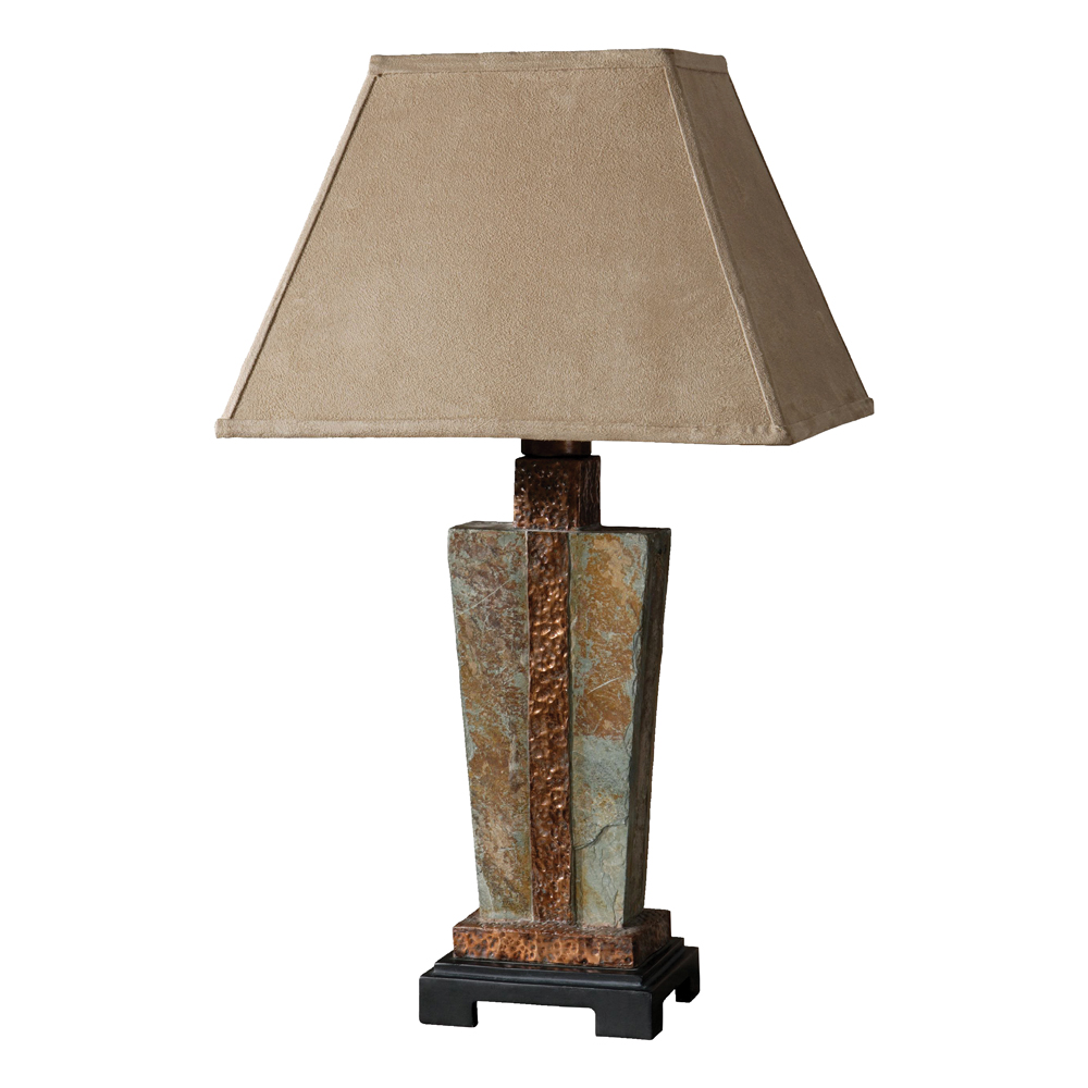 Rustic Table Lamps: Copper Valley Table Lamp Black Forest Decor