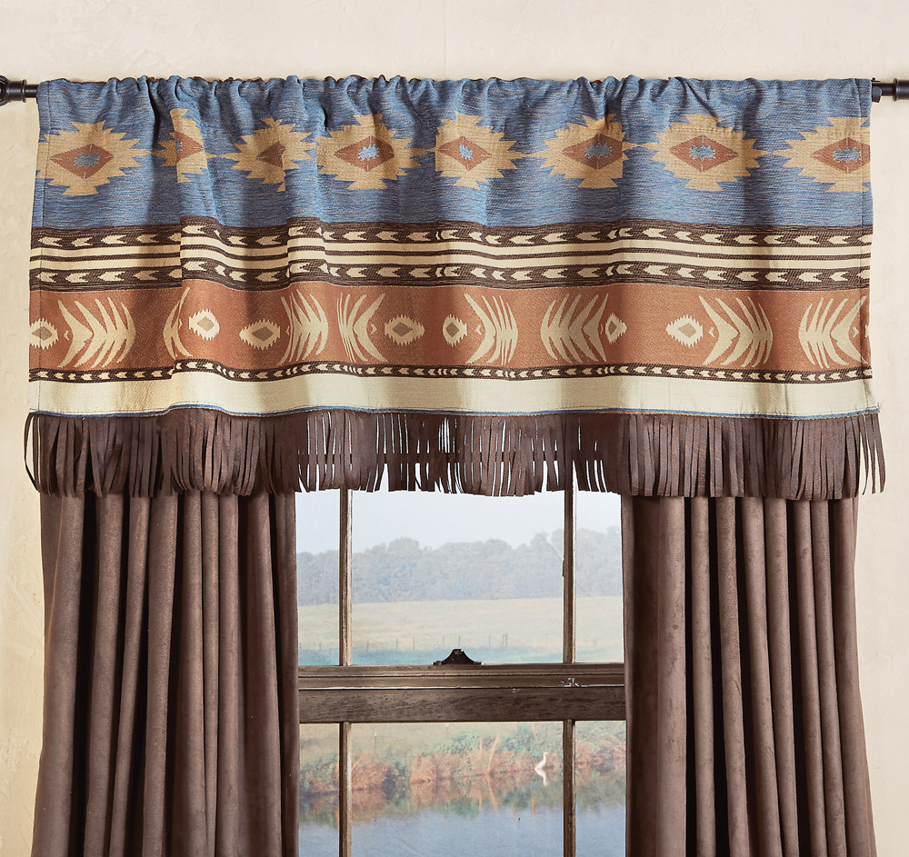 Black Forest Decor Desert arrow valance