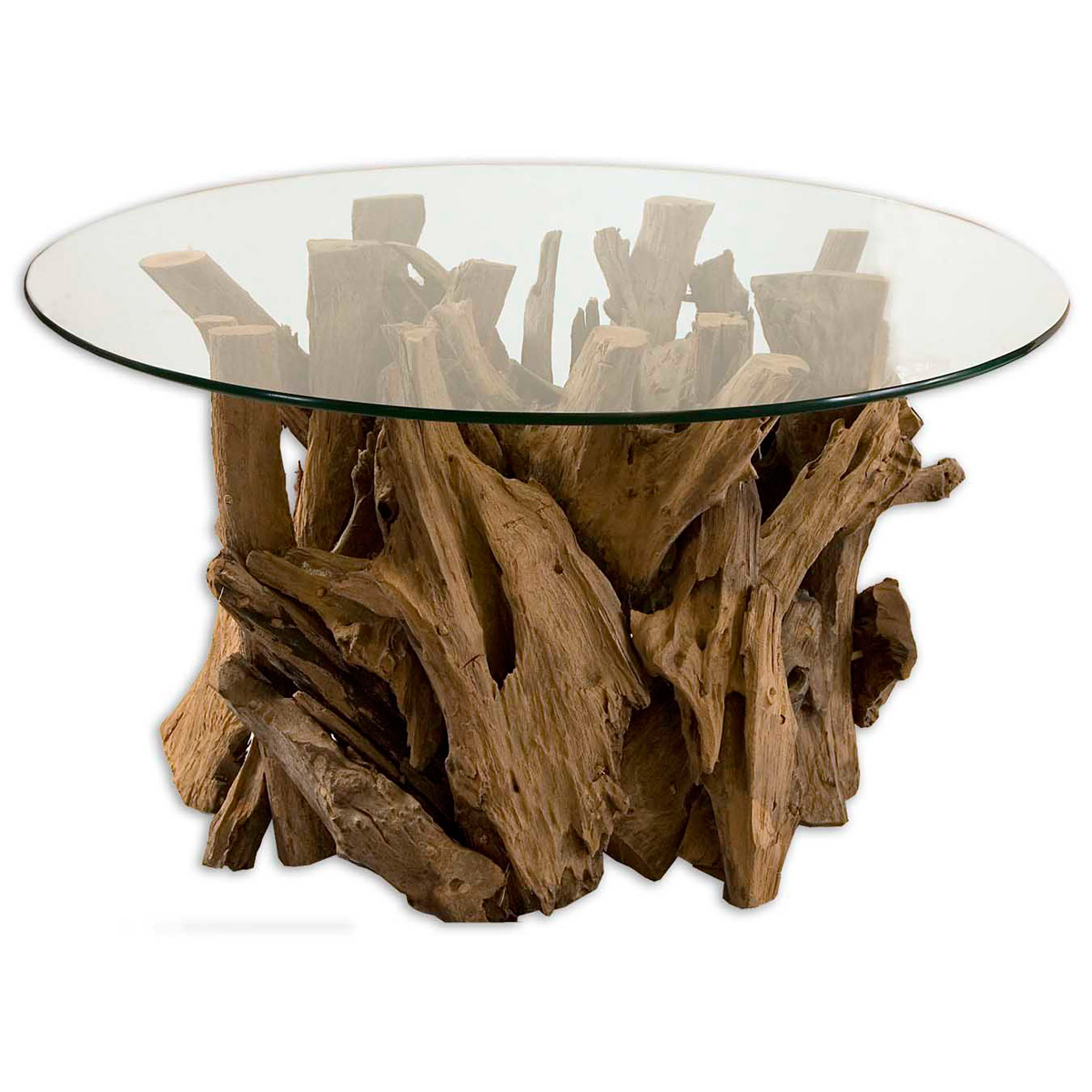 Black Forest Decor Driftwood cocktail table