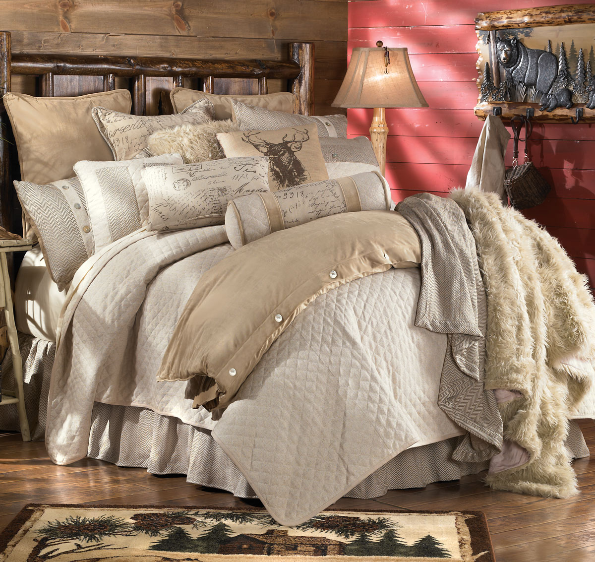Black Forest Decor Fairfield bed set - king