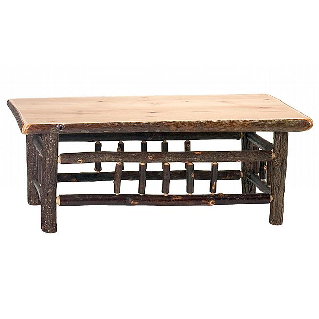 Hickory Open Coffee Table 42 X