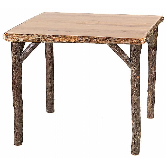 Black Forest Decor Hickory game table - 42 inch