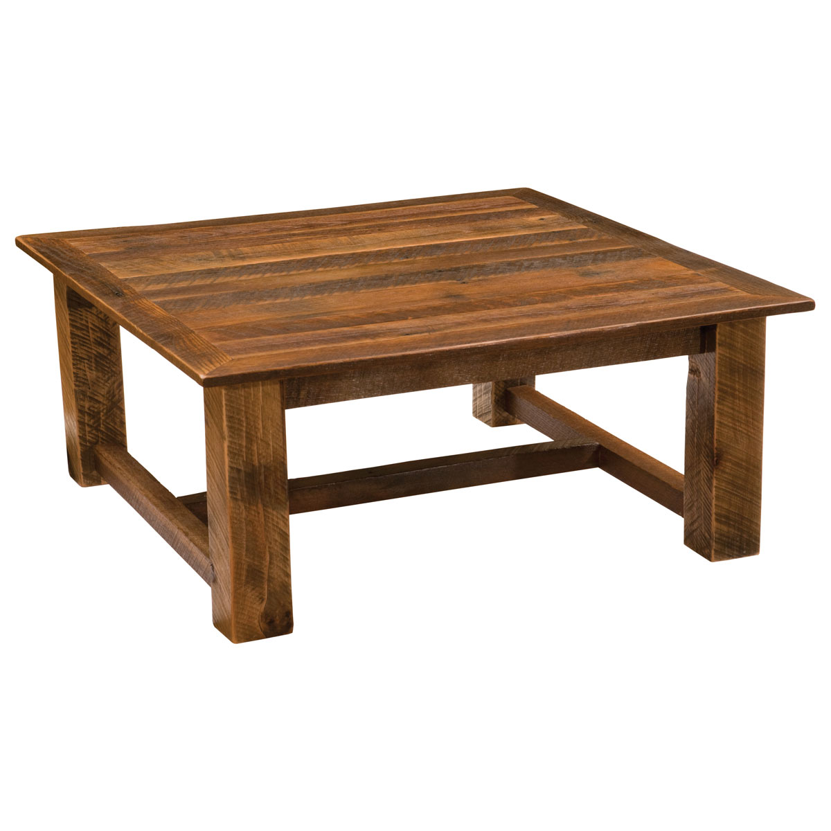 Barnwood Square Open Coffee Table 42 X