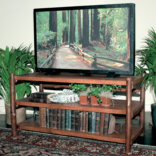 Black Forest Decor Black forest hickory tv stand