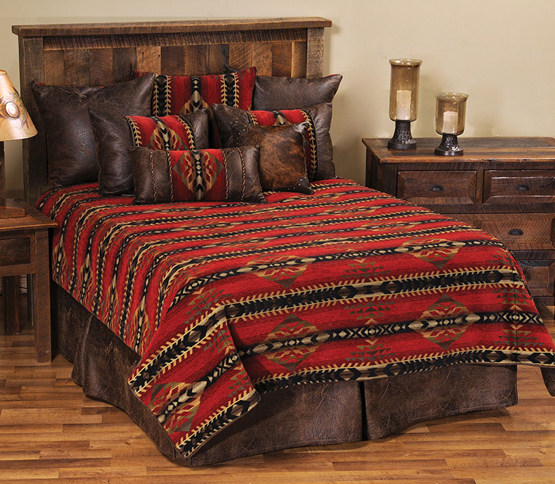 Black Forest Decor Gallop deluxe bed set - queen
