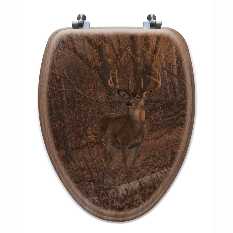 Black Forest Decor Great eight toilet seat - elongated