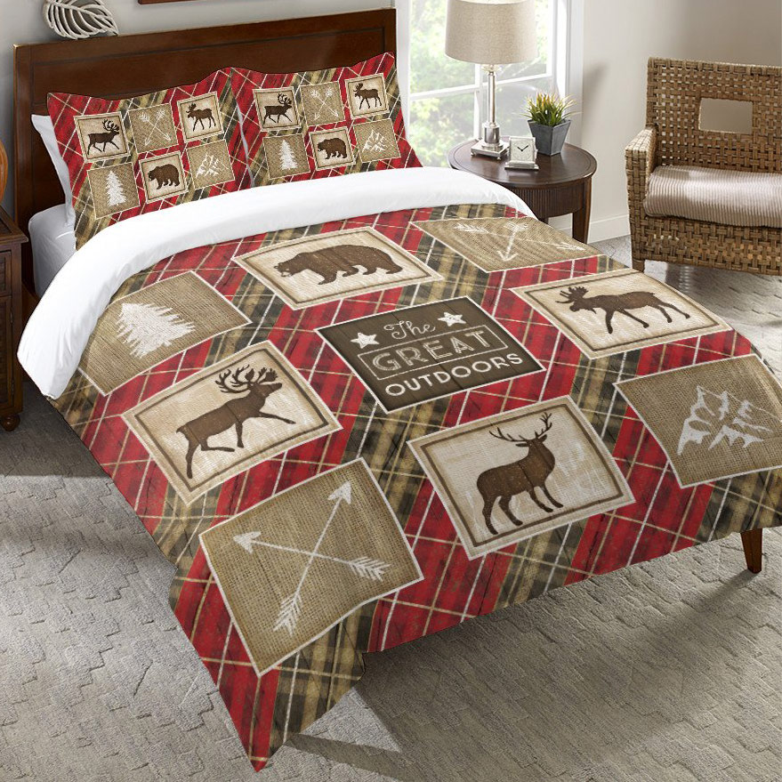 Black Forest Decor Great outdoors duvet cover - king