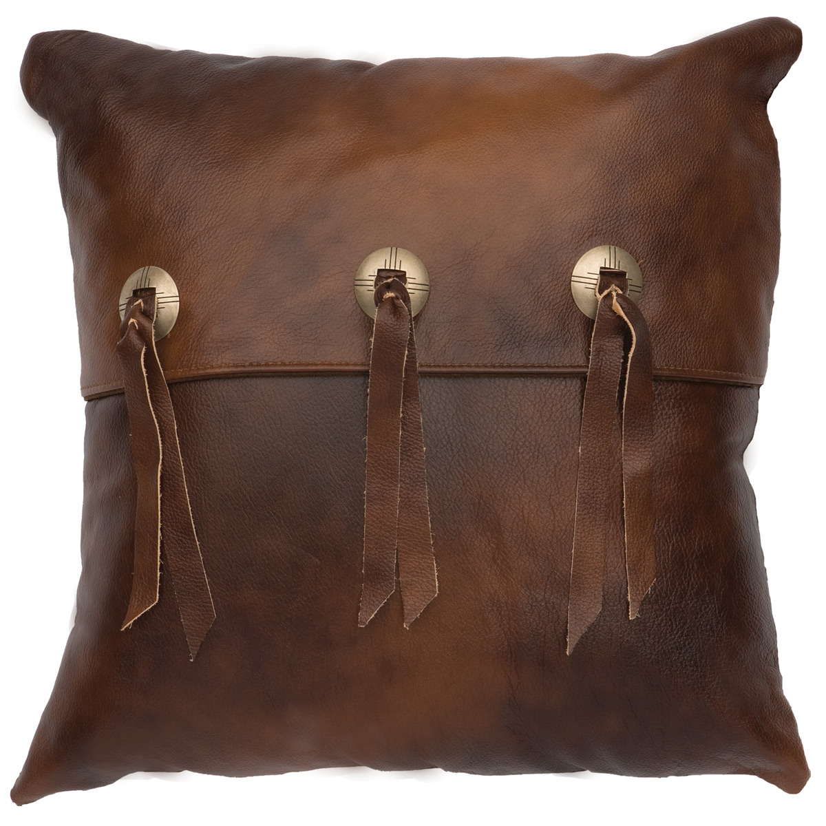 Black Forest Decor Harness leather with flap & slotted co...