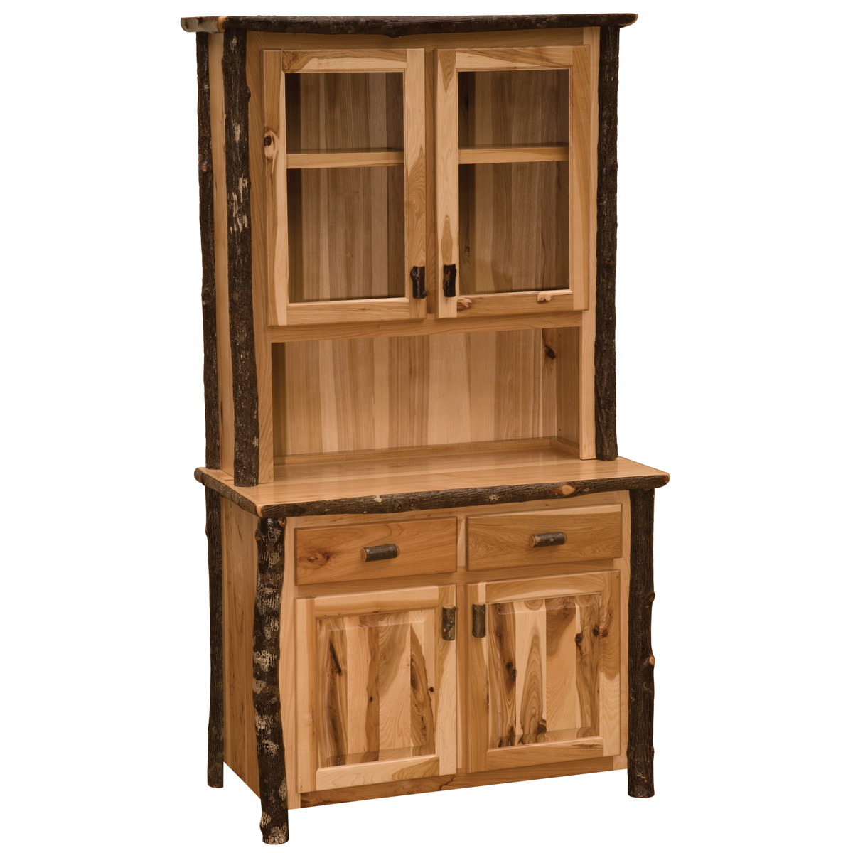 Black Forest Decor Hickory buffet & hutch - 48 inch
