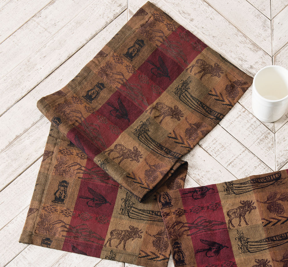 Black Forest Decor High country table runner - 36 inch