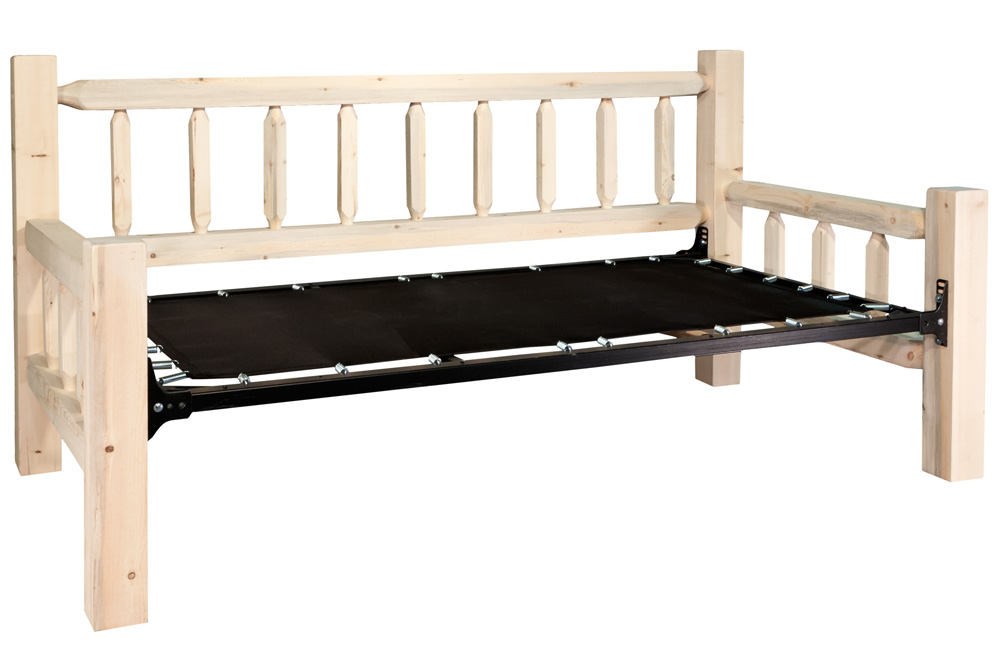Black Forest Decor Homestead day bed - unfinished
