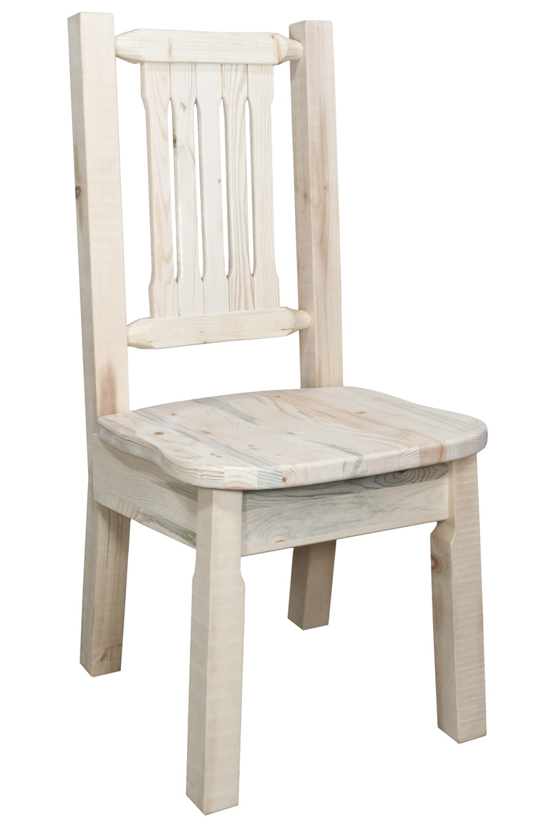 Black Forest Decor Homestead dining chair - unfinished
