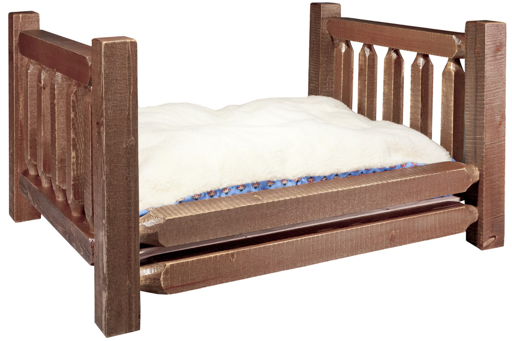 Black Forest Decor Homestead large dog bed with mattress ...