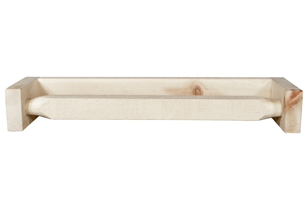 Black Forest Decor Homestead towel rack - lacquered