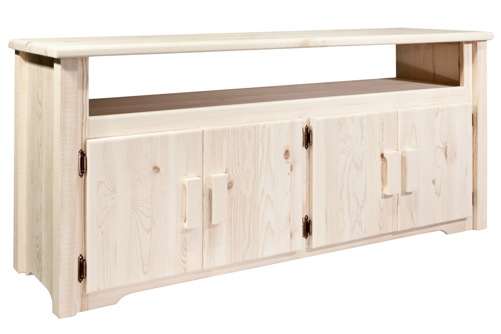 Black Forest Decor Homestead tv stand - lacquered