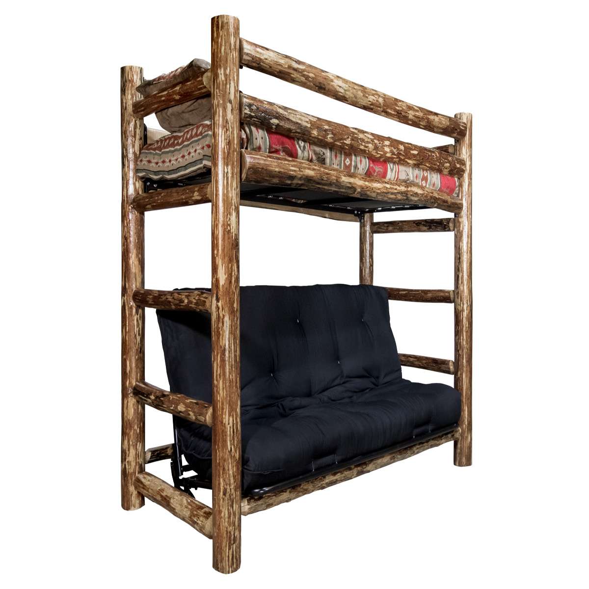 Black Forest Decor Jackson hole bunk bed - twin over full...