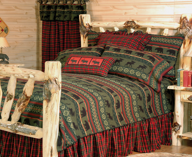 Black Forest Decor Mcwoods 1 basic bed set - cal king