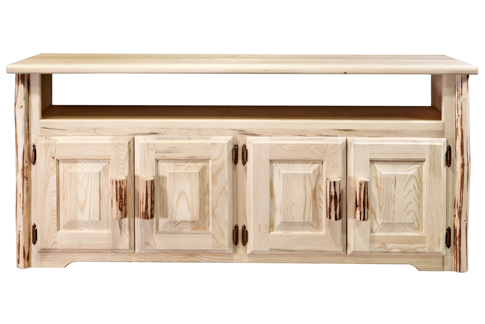 Black Forest Decor Montana tv stand - lacquered