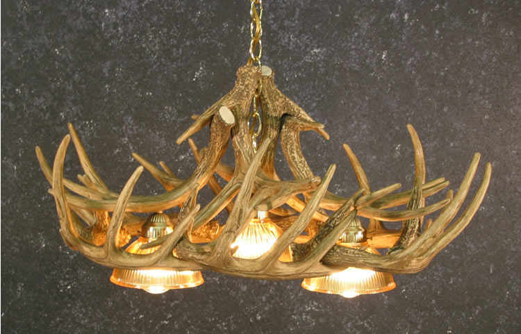 Antler chandeliers chandeliers compare prices at nextag black forest decor whitetail 10 antler chandelier w down aloadofball Gallery