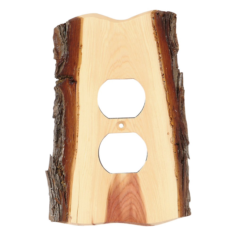 Rustic Switch Plate Covers Rustic Juniper Wood Switch Covers