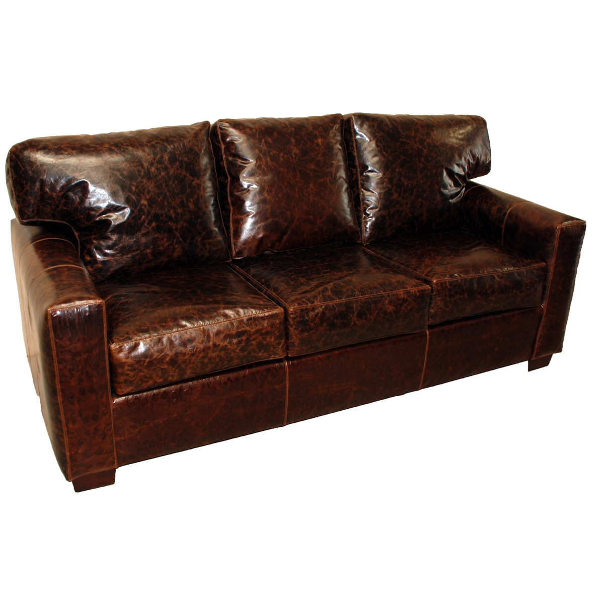 Black Forest Decor Tucson straightback sofa