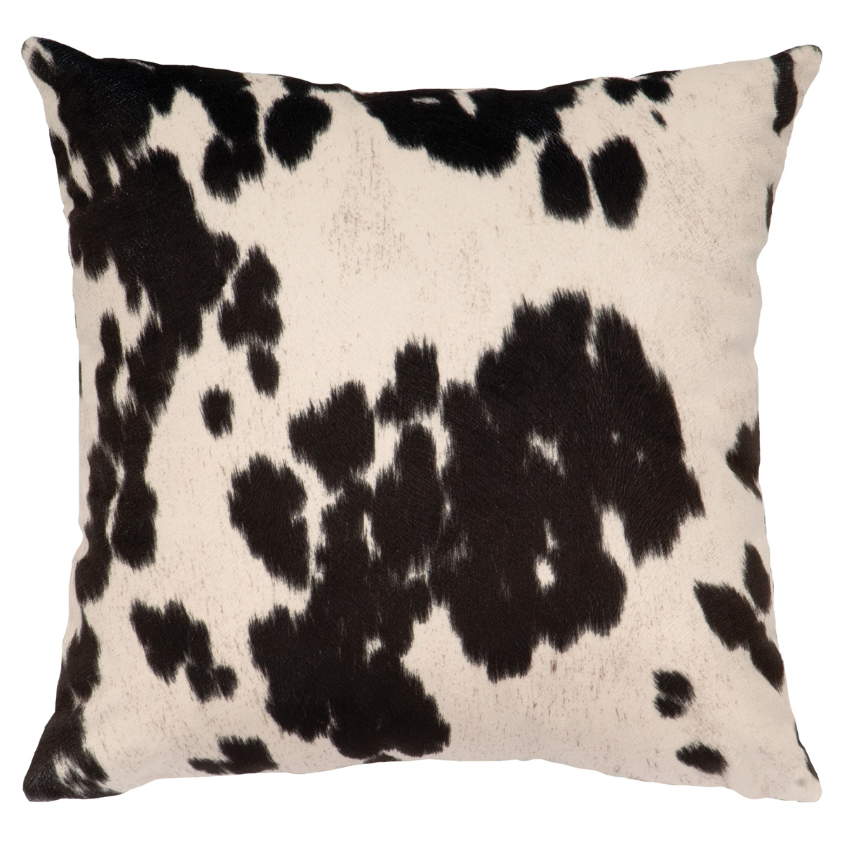 Black Forest Decor Udder domino square pillow