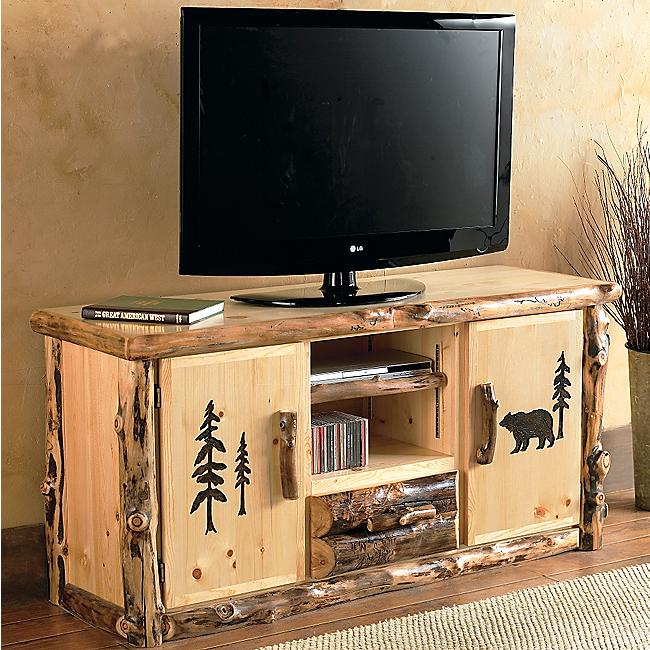 Black Forest Decor Aspen creek tv console table