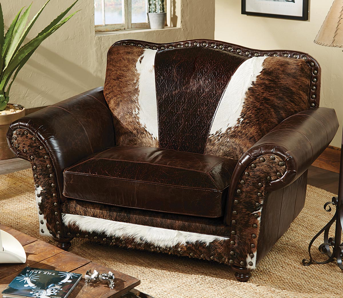 Black Forest Decor Wild bill chair and a half
