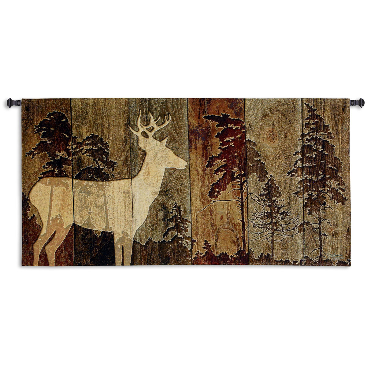 Black Forest Decor Woodburn lodge wall tapestry