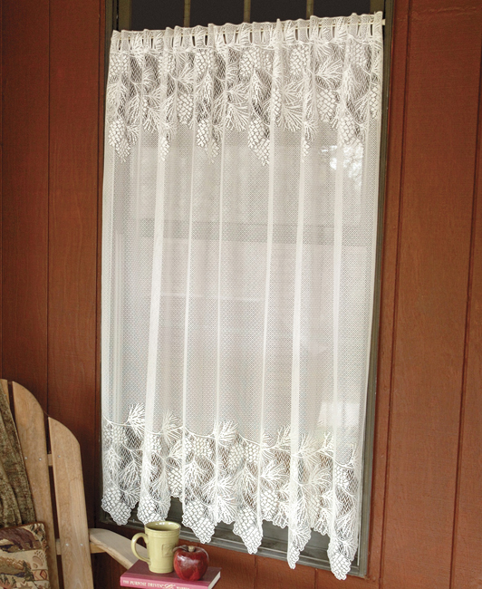 exceptional Lace Sheers For Windows Part - 15: Black Forest Decor