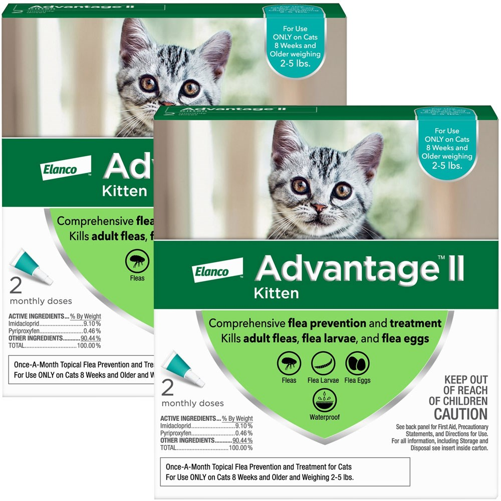 Advantage Ii Pounds For Cats Dogs