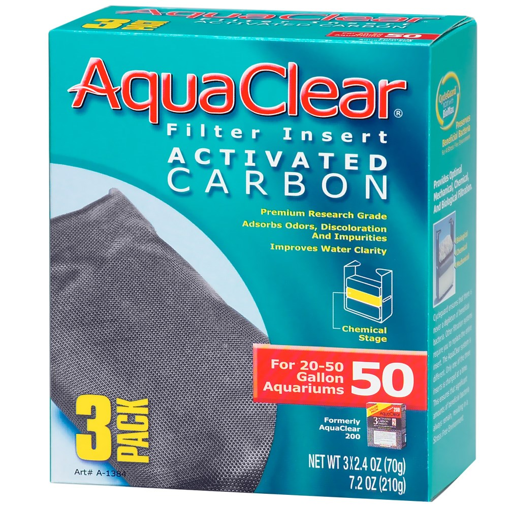 AquaClear 50 Filter Insert Activated Carbon (3 pack) at Sears.com