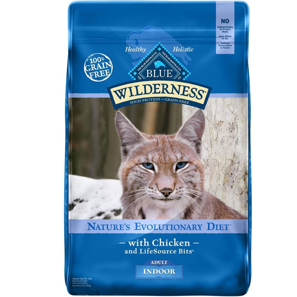 blue buffalo adult indoor cat food