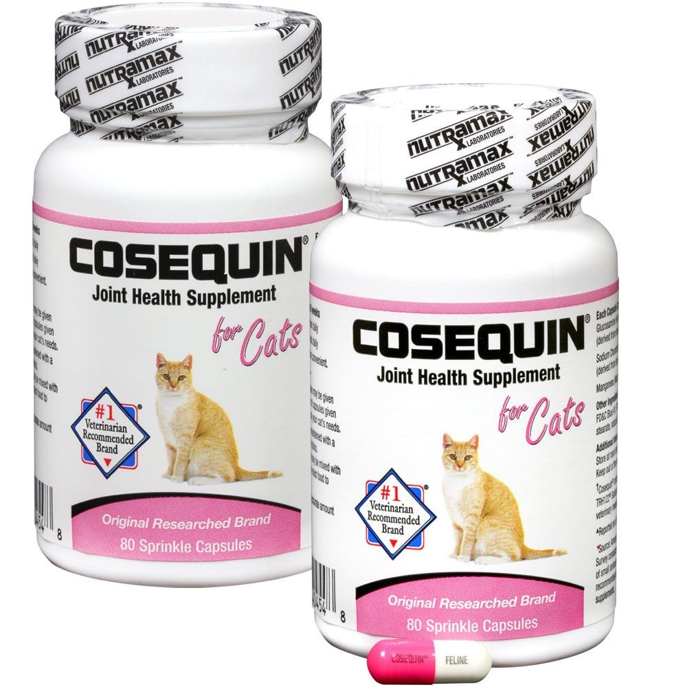 2 pack cosequin for cats 80 count 160 capsules ebay. Black Bedroom Furniture Sets. Home Design Ideas